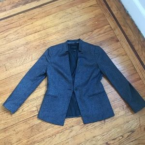 Banana Republic Beautiful dark gray blazer